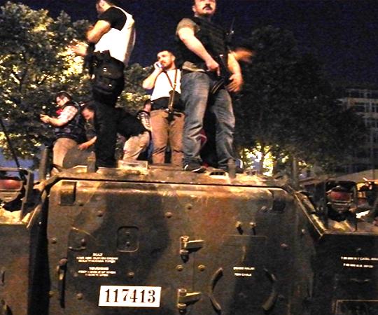 3.9 Public resistance stopped tanks