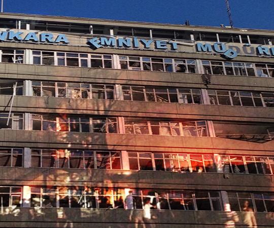 4.2 Воздушная атака на Управление безопасности Анкары