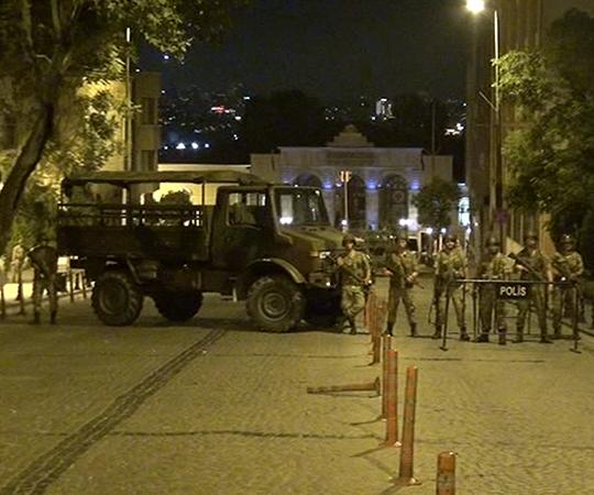 2.6 İstanbul'da stratejik yerlerin işgal edilmesi
