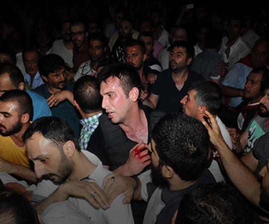 5.3 Освобождение Стамбульской мэрии от захватчиков.