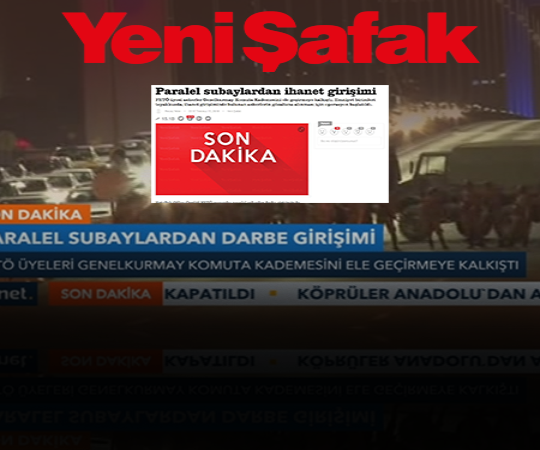 2.11 First media outlet to announce the coup attempt