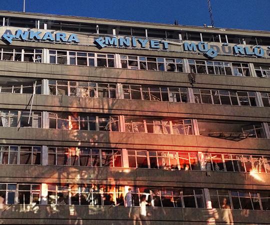 4.2 Ankara Emniyet Müdürlüğüne hava saldırısı