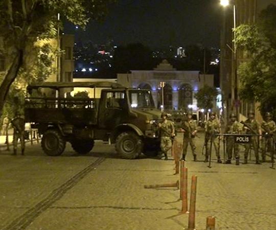 2.6. Захват стратегических объектов в Стамбуле.