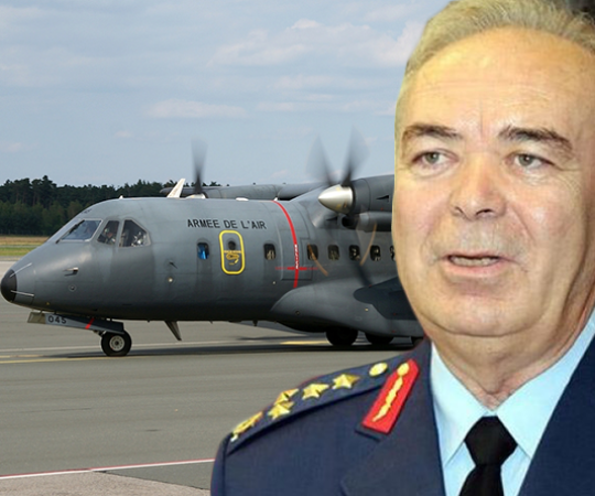 4.8 Chief of Air Staff detained at the Akıncı Air Base