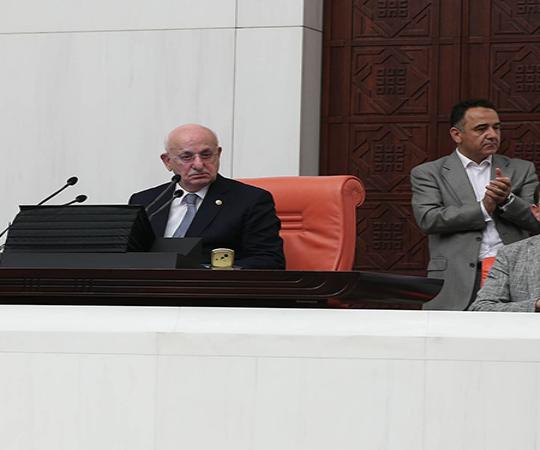5.18 Statement by Parliamentary Speaker İsmail Kahraman