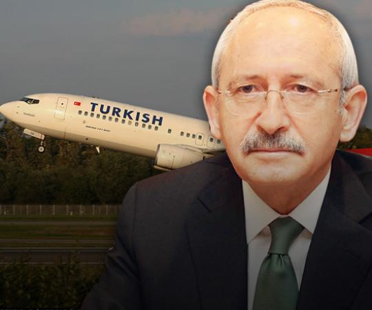 2.19 Кылычдароглу вышел из оккупированного аэропорта Ататюрк