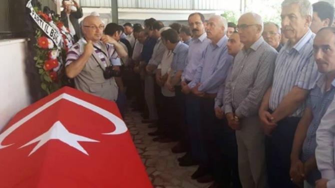 15 Temmuz şehidi Muhammed Ali Aksu'nun cenaze töreni