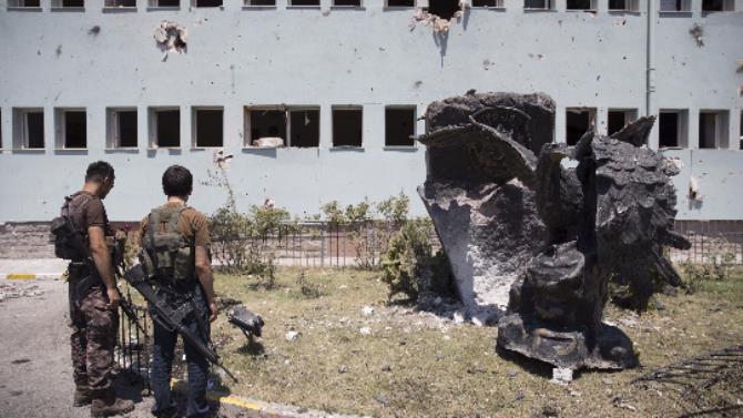 Gölbaşı Özel Harekat bombalandı