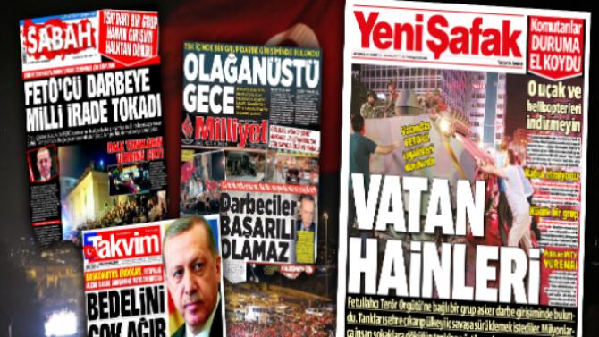 Headlines on July 16