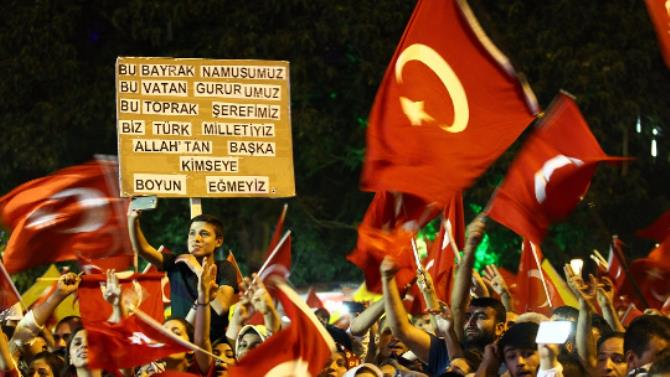 Banners that left their mark on the democracy watch