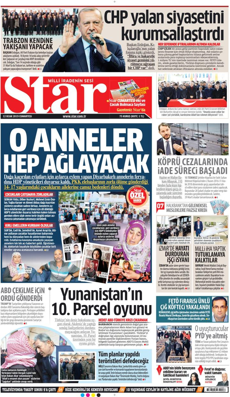 STAR - 12 Ocak 2019