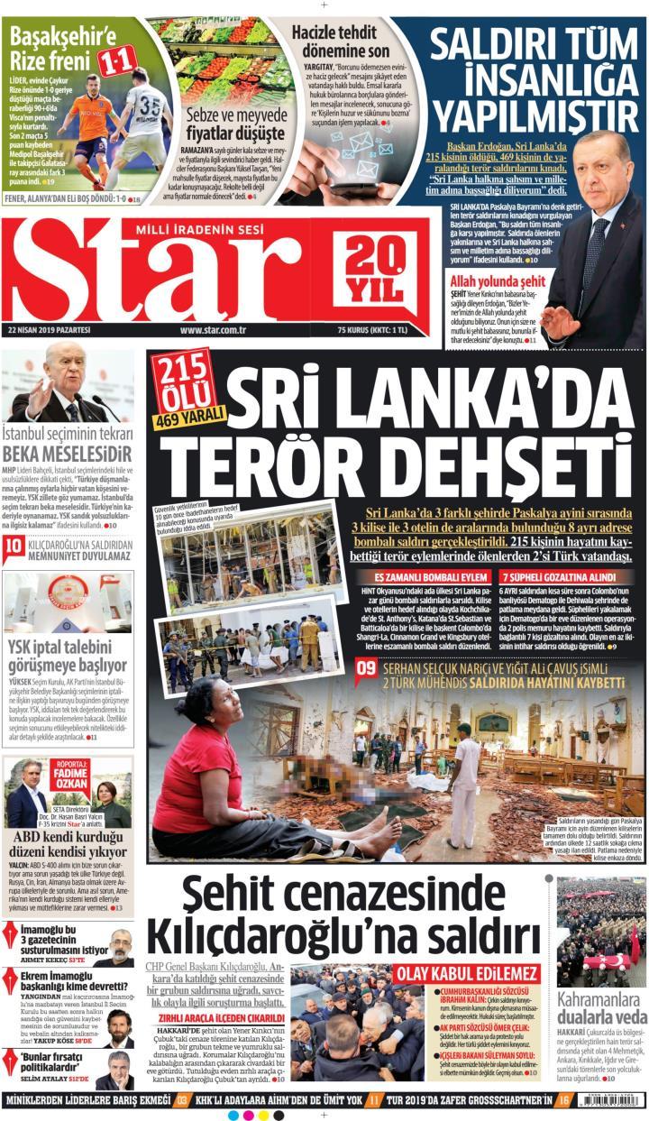 STAR - 22 Nisan 2019