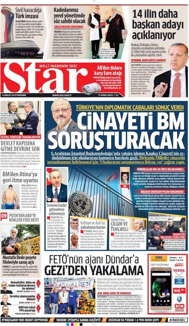 STAR - 06 Aralık 2018