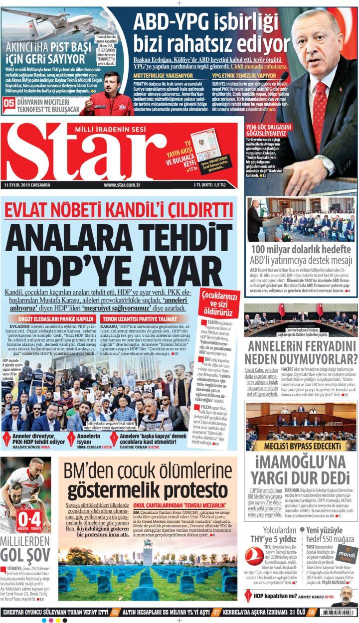 STAR - 11 Eylül 2019