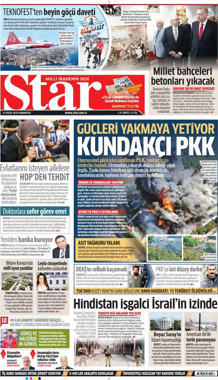 STAR - 21 Eylül 2019