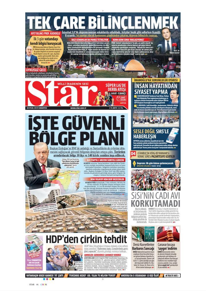 STAR - 28 Eylül 2019