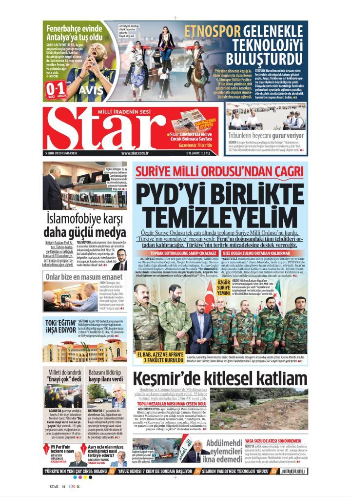 STAR - 05 Ekim 2019