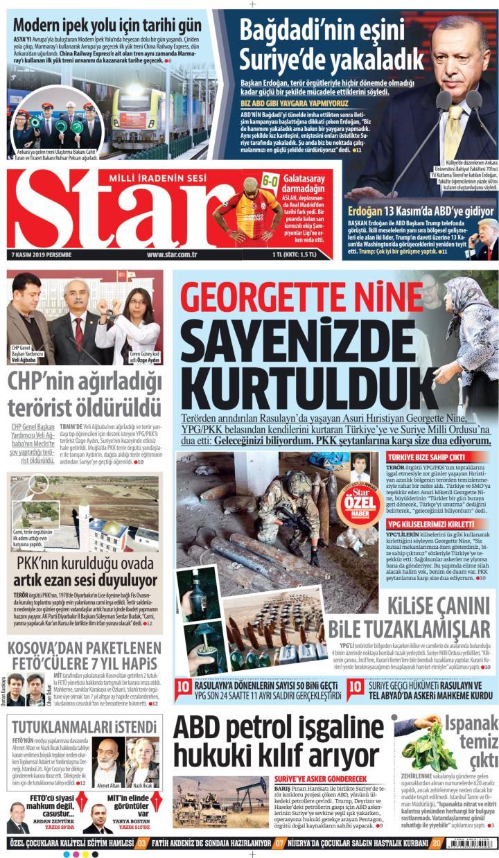 STAR - 07 Kasım 2019