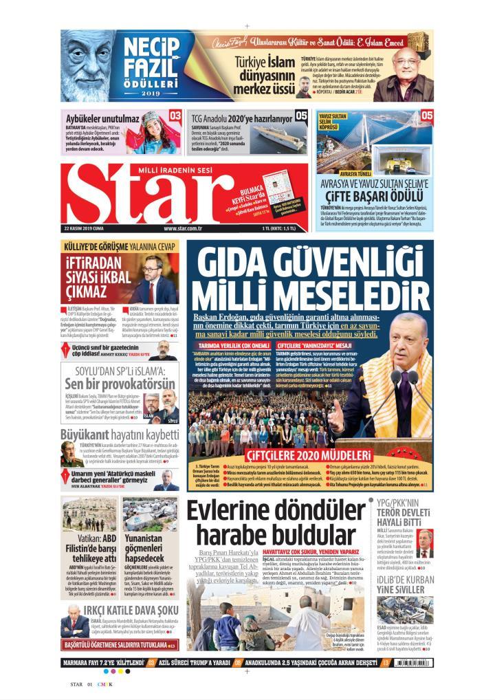 STAR - 22 Kasım 2019