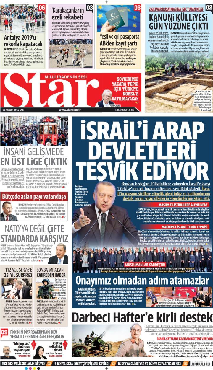 STAR - 10 Aralık 2019