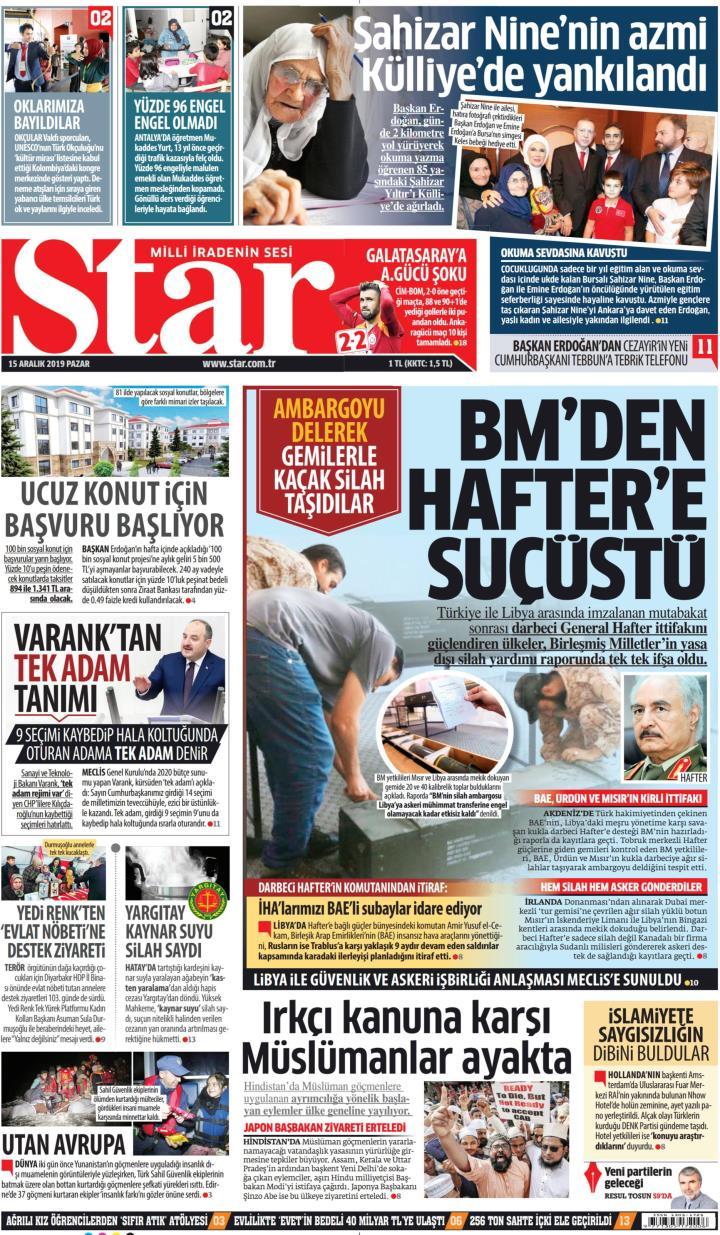 STAR - 15 Aralık 2019