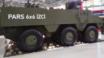 PARS 6x6 İZCİ zırhlı araç ilk kez yurtdışında sergiye çıkıyor!
