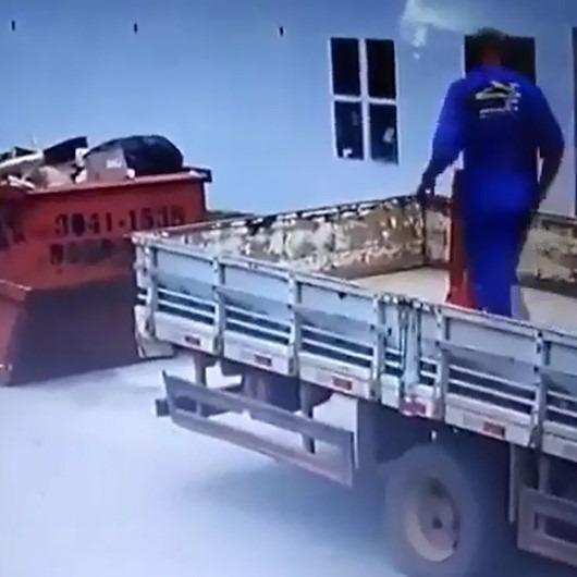O nasıl bir bilek gücü?