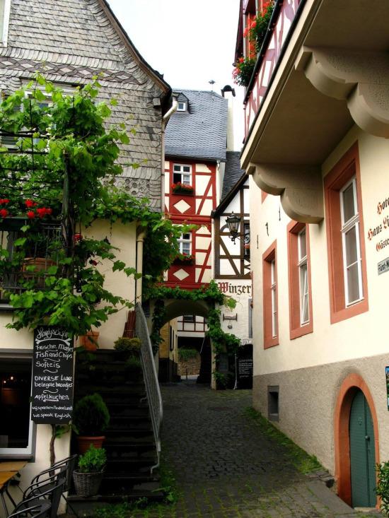 Almanya'da Baden-Württemberg eyaletinde yer alan Beilstein şehri...