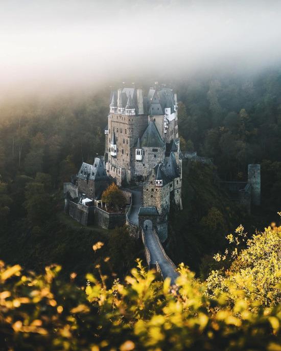 Almanya'da yaklaşık 25.000 kale olduğunu biliyor muydunuz?