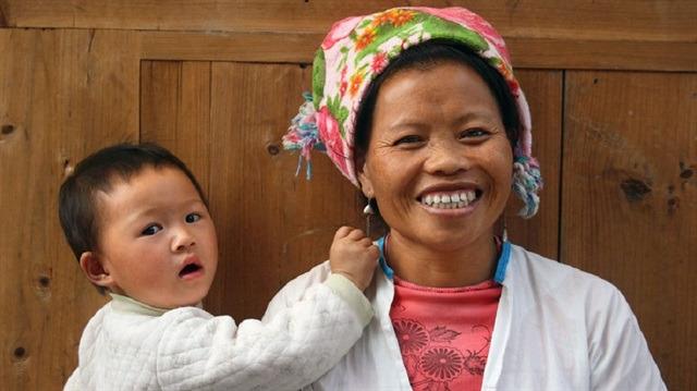 Dünyanın dört bir yanından objektiflere yansımış anne ve çocuk kareleri