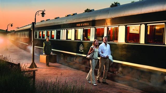 Dünyanın en lüks treni: Rovos Rail