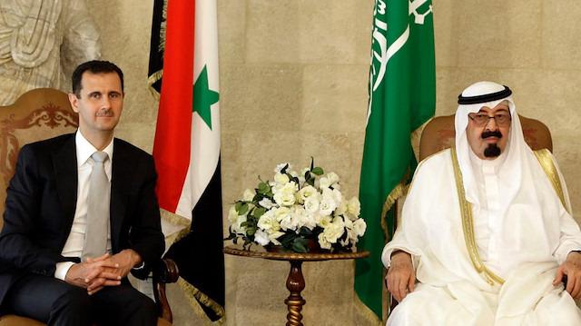 Suudi Arabistan da Şam'daki elçiliğini açıyor