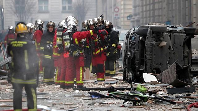 Paris'in merkezindeki bir fırında patlama: 4 kişi yaşamını yitirdi