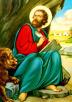 Evanjelist Markos'un Kıptî Kilisesi tarafından yapılan bir tasviri.