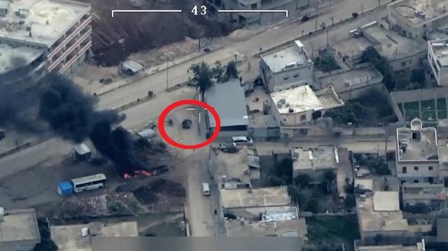 Sivil kıyafetli teröristler nokta atışıyla havaya uçuruldu