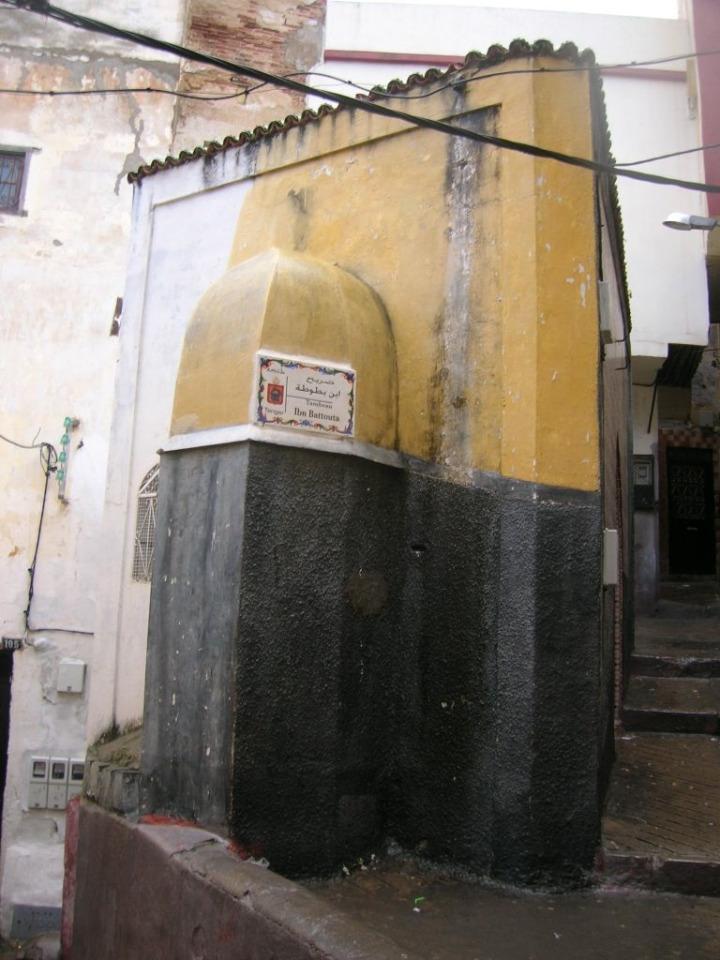 İbn Battuta'nın kabri memleketi Tanca'da bulunuyor.