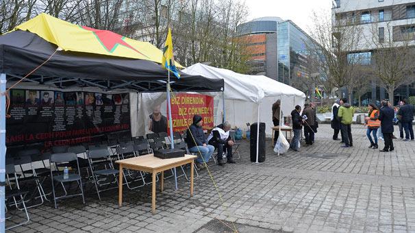 6. Belçika'dan ikinci PKK çadırı skandalı