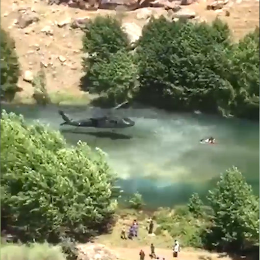 Sikorsky firmasından özel ödül alan kurtarma operasyonu