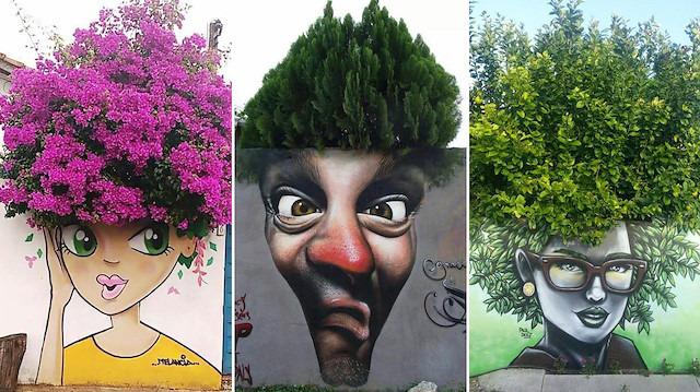 Gördüğünüzde dönüp bir kez daha bakacağınız muhteşem sokak sanatları
