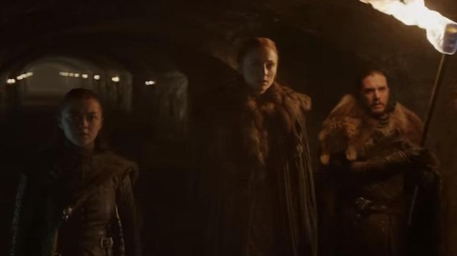 Game of Thrones final sezonu fragmanı yayınlandı